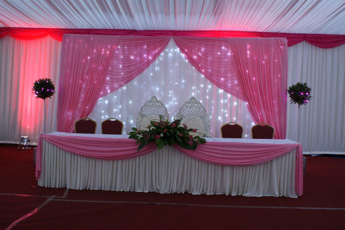 Hall Decoration Wedding Flowers